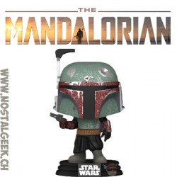 Funko Pop Star Wars The Mandalorian Boba Fett Vinyl Figure