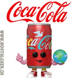 """Funko Pop Ad Icons Coca-Cola """"I'd Like to Buy the World a Coke"""" Can Vinyl Figure"""