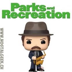 Funko Pop Parks and Recration Duke Silver Vinyl Figure