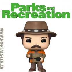 Funko Pop Parks and Recration Hunter Ron Vinyl Figure