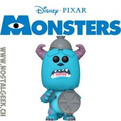 Funko Pop Disney Monster's Inc 20th Sulley (With Trash Lid) Vinyl Figure