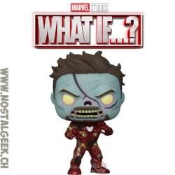 Funko Pop Marvel: What if...? Zombie Iron Man Vinyl Figure
