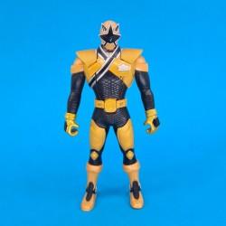Power Rangers Super Samurai Gold Mega Ranger Flip Head second hand action figure (Loose)