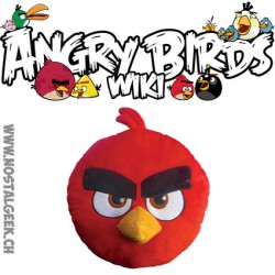 Coussin Angry Birds Rouge 3D