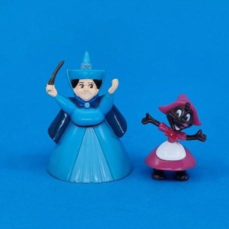 Disney Sleeping Beauty set of 2 second hand figures (Loose)