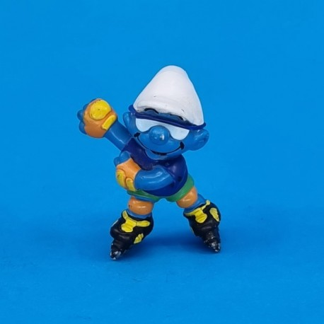 The Smurfs roller Smurf 1996 second hand Figure (Loose)
