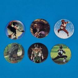 Power Rangers lot de 6 Pogs d'occasion (Loose)