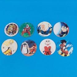 Dragon Ball Z lot de 8 Pogs d'occasion (Loose)