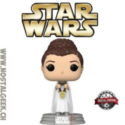 Funko Pop! Star Wars Princess Leia (Yavin) Edition Limitée