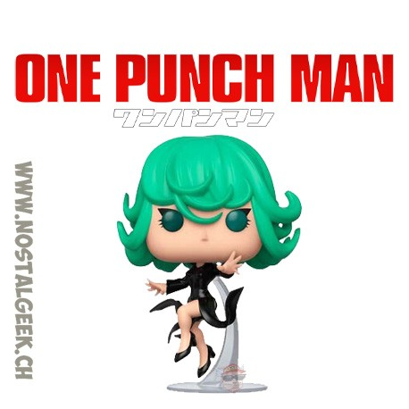 Funko Pop Anime One Punch Man Terrible Tornado Vinyl Figure