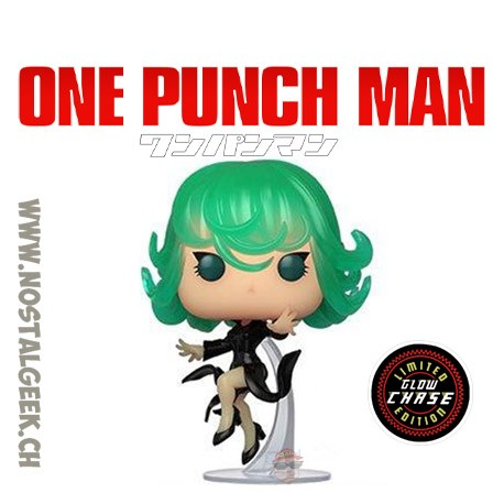 Funko Pop Anime One Punch Man Terrible Tornado Chase Exclusive Vinyl Figure