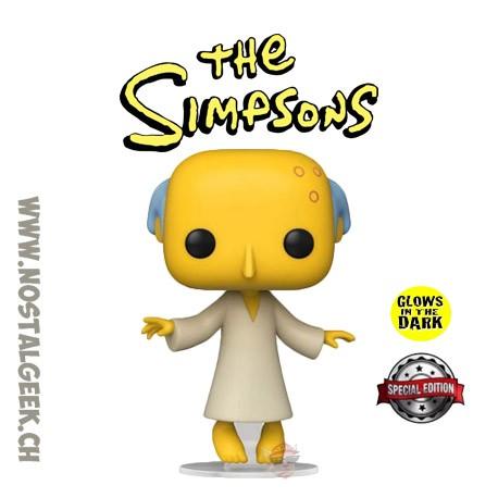 Funko Pop The Simpsons Glowing Mr. Burns Gitd Exclusive Vinyl Figure
