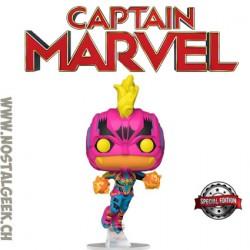 Funko Pop Marvel Captain Marvel (Black Light) Edition Limitée