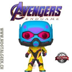 Funko Pop Marvel Avengers Endgame Ant-Man (Black Light) Exclusive Vinyl Figure