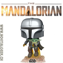 Funko Pop Star Wars The Mandalorian with The Child Vinyl Figure