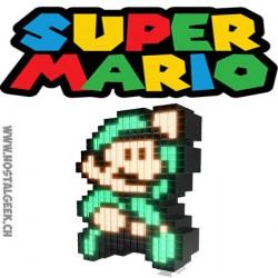 Nintendo Super Mario 3 Luigi Pixel Pals Light up