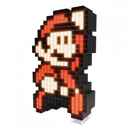 Toy Nintendo Super Mario 3 Mario Pixel Pals Light Up Geek