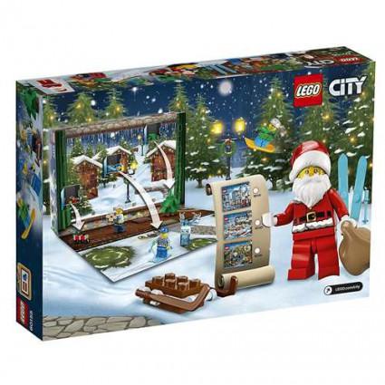 Calendrier Lego City.Figurine Lego 60155 Lego City Le Calendrier De L Avent Lego C