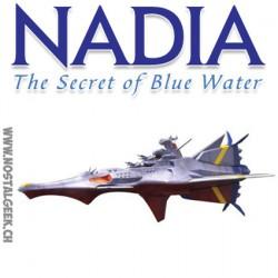 Nadia Le Secret de l'Eau Bleu N-Nautilus 1/1000 Scale Full Kit Kotobukiya KP314