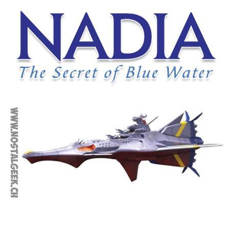 Nadia The Secret of Blue Water N-Nautilus 1/1000 Scale Full Kit Kotobukiya KP314 Model Kit