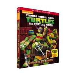 Les Tortues Ninja - Vol. 3 : L'invasion des Krangs (2012) - DVD Édition Collector Limitée