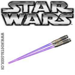 Baguettes Sabre Laser avec LED Star Wars: Mace Windu LKotobukiya