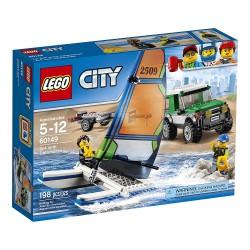 LEGO City - 60101 - Jeu de construction - Le 4x4 avec Catamaran