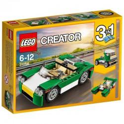 LEGO City - 31056- Jeu de construction - La Décapotable Verte