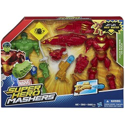 Marvel Super Hero Mashers Hulkbuster vs Hulk Mash Pack Action figure