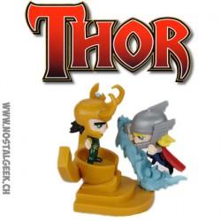 Marvel Diorama Thor Vs Loki Collector Series Figure