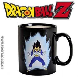 Tasse Dragon Ball Z Vegeta qui change avec la chaleur