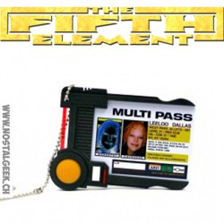 The Fifth Element Prop Replica Multi Pass Leeloo Dallas