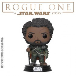 Funko Pop! NYCC 2017 Star Wars Rogue One Saw Gerrera Edition Limitée