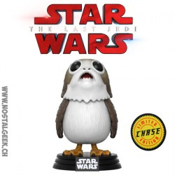 Funko Pop! Chase Star Wars The Last Jedi Porg Edition Limitée