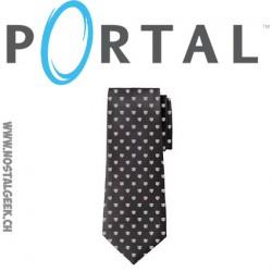Cravate Portal Companion Cube