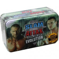 WWE Topps Slam Attax 2009 Evolution - Triple H & Randy Orton Wrestling