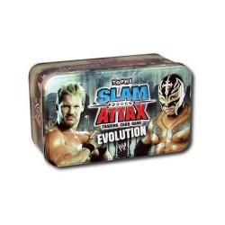 WWE Topps Slam Attax 2009 Evolution - Triple H & Randy Orton Wrestling