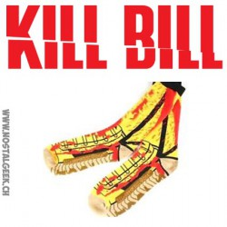 Tarantino's Kill Bill Vol 1 Themed Crew Socks Mens Shoe Size 8-12