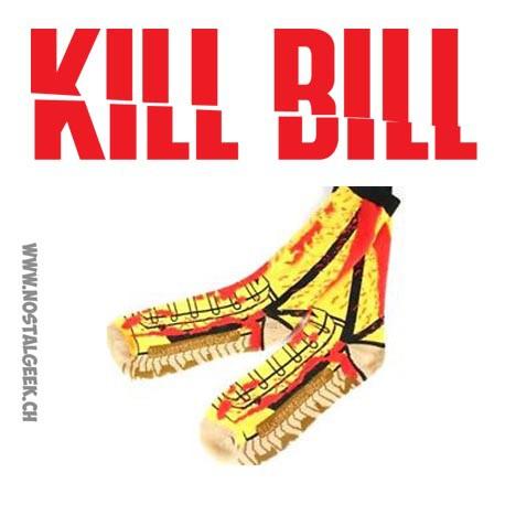 Tarantino's Kill Bill Vol 1 Themed Crew Socks Mens Shoe Size 8-12