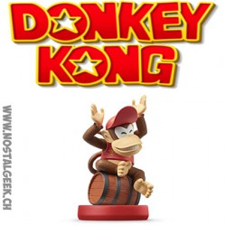 Nintendo Amiibo Super Mario - Diddy Kong Figure