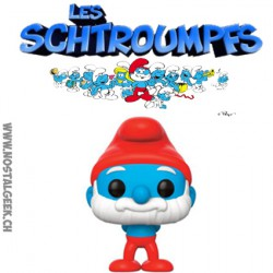 Funko Pop The Smurfs Papa Smurf Vinyl Figure