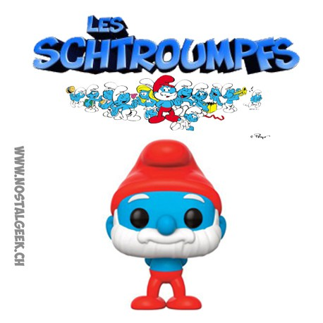 Funko Pop The Smurfs Papa Smurf Vinyl Figure