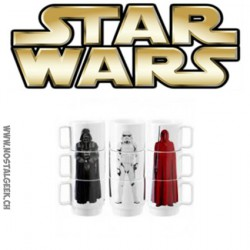 Star Wars Stacking Mugs 3 pieces set Darth Vader / Stormtrooper / Imperial Guard