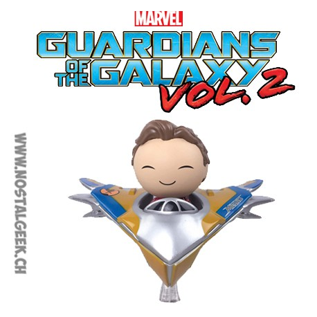 Funko Dorbz Ridez Marvel Guardians of the Galaxy Vol-2 Star-Lord with The Milano