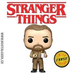 Funko Pop TV Stranger Things Hopper Chase Vinyl Figure