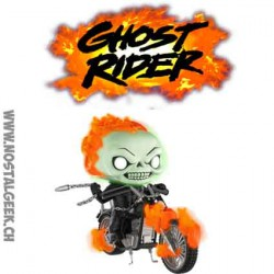 Funko Pop! Marvel Ghost Rider Phosphorescent Edition Limitée
