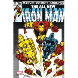 Marvel Steel Cover - Iron Man 174 - Giant Size