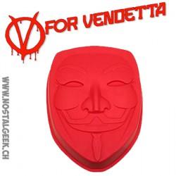 V For Vendetta - Moule en Silicone Masque de Guy Fawkes