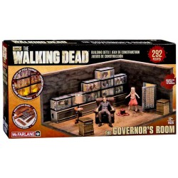 The Walking Dead - Jeux de construction - Governor room set