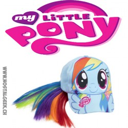 My Little Pony Raibow Dash Unicorn Baseball Cap & Rainbow Pony Tail